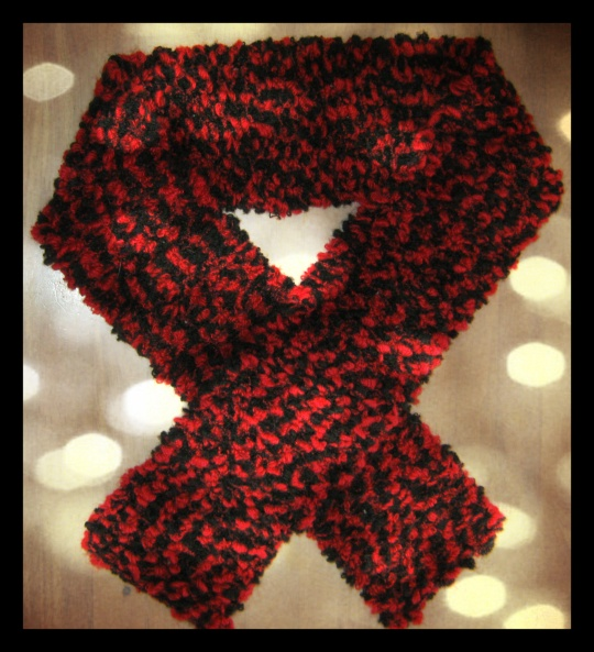 Handmade, Beautiful & Warm Knitted Scarf