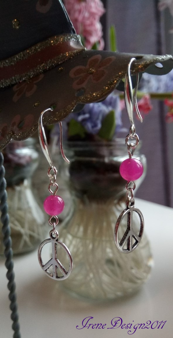 pink-peace-earrings-2